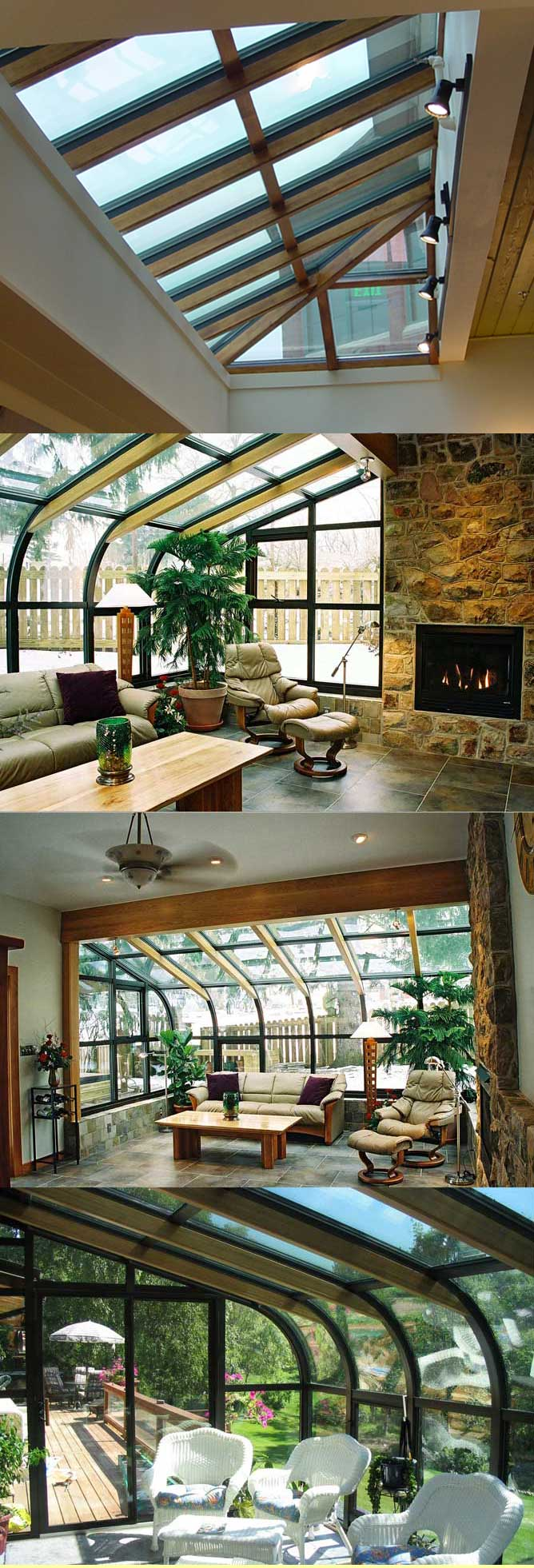 Wood accents page florian sun room solarium sun room for Solarium room
