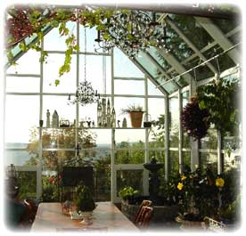 free-standing greenhouse